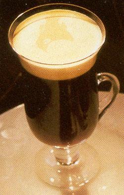 koffie machine goud
