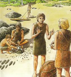 Tekening steentijd