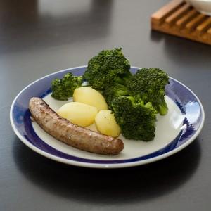 aardappels-groente-vlees