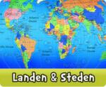 werken over landen bij kleuters
